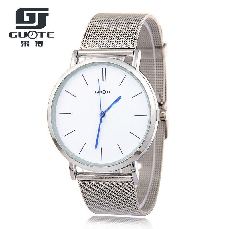 BB New Fashion Gold Women Watch Men Elegant Casual Steel Mesh Quartz Watches Ladies Boutique Gift Geneva Wristwatch Silver 2016