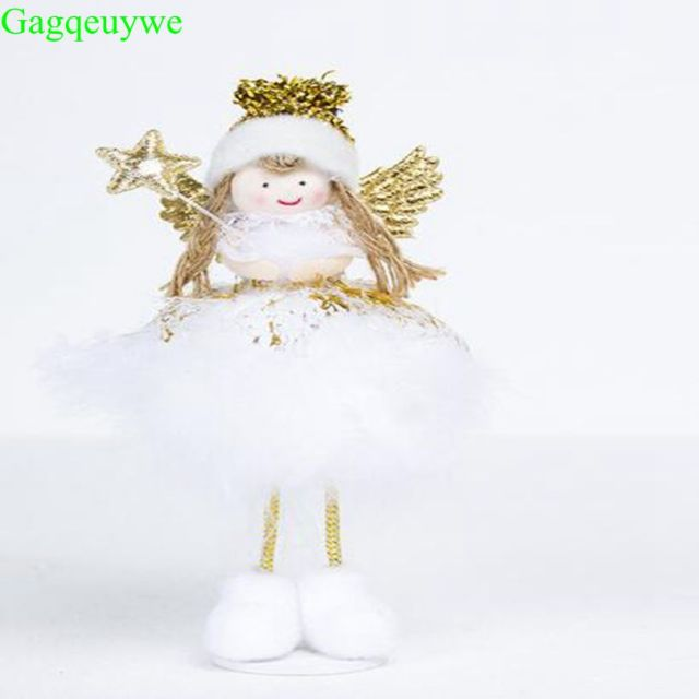 2019 christmas angel doll toy christmas decorations for home christmas tree decorations xmas kids new year - Christmas Angel Decorations