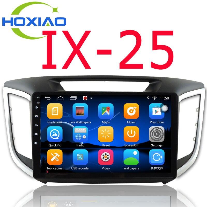 2 Din car dvd gps player For Hyundai IX25 CRETA 2014 2015 2016 stereo android 6