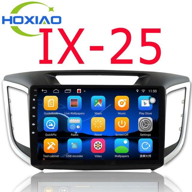 2 Din car dvd gps player For Hyundai IX25 CRETA 2014 2015 2016 stereo android 6.0 Russia navigation car radio audio video player