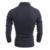 Masculino Suéter Pulover Mens de la Solapa de la Moda Suéter Delgado Masculino Pasta de Papel Plolo Camiseta Decoración Del Botón de Los Hombres de Cobertura Suéter XXL