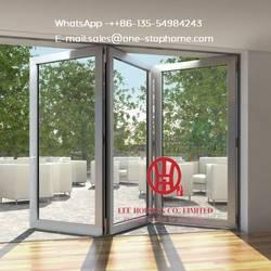 Новый дизайн раздвижные двойные стеклянные двери интерьер, патио двери для использования на вилле, внешние перегородки для комнат