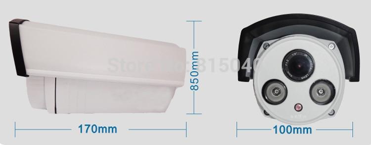 ФОТО MN-120  IP Camera Waterproof Night Vision Onvif P2P Mini Camera IR Distance30-40m 960P Security Mini Bullet IP Camera