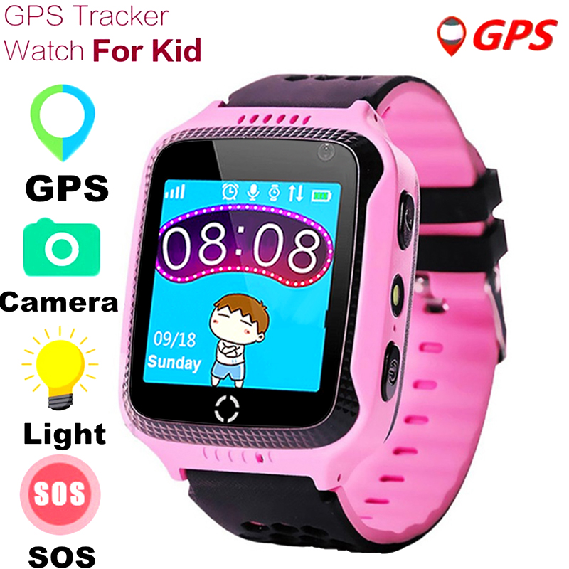 GPS Anti Lost <font><b>Q528</b></font> <font><b>kids</b></font> <font><b>Smart</b></font> <font><b>Watch</b></font> SOS Call Locator Tracker Children Smartwatch Boy Girls Safe <font><b>Watch</b></font> for iOS Android PK Q90 Q50 image