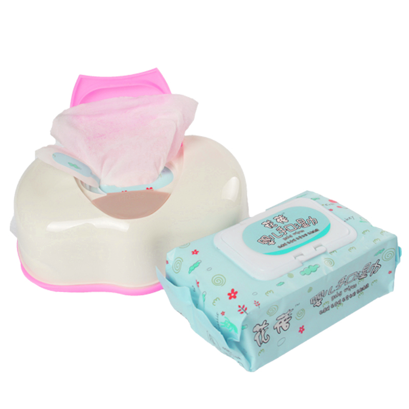 New Arrival Wet Tissue Box Plastic Automatic Case Real Tissue Case Baby Wipes Press Pop-up Design Storage Boxes Bins Accessories