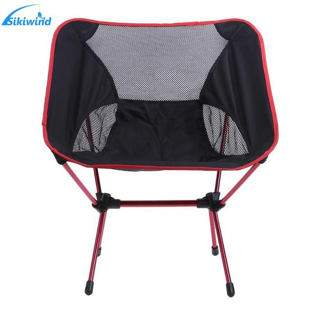 Lightweight Folding Camping Chair Portable Outdoor Fishing Seat Ultra Light Foldable Picnic Bbq Beach