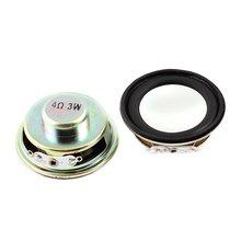 HFES nowy 4 ohm 3 W metalu okrągły magnes głośnik 2 szt