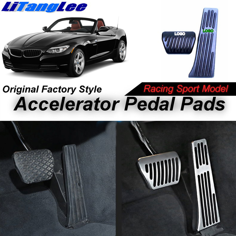Litanglee Car Accelerator Pedal Pad Cover Sport Racing For