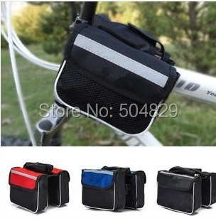 Bicycle-Stem-Bag Mountain-Bike-Bag Waterproof Travel-Accessories Outdoor 200pcs/Lot Wholesale