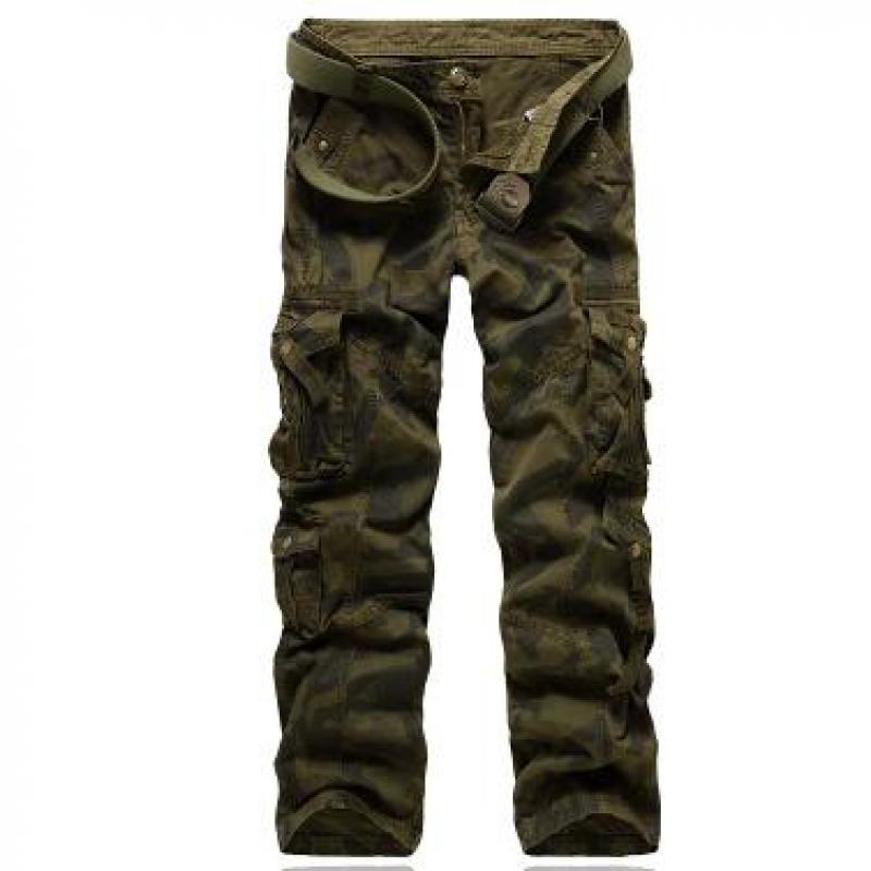 Men Camo Cargo Pants