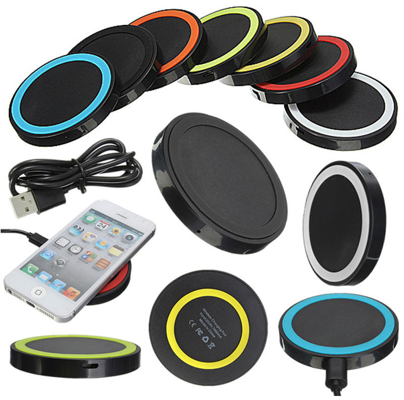 Car Mat QI Wireless Charging For Android iPhone Samsung Type-C Phone Quick Charger Launcher 5V/1A Over Temperature Protection image