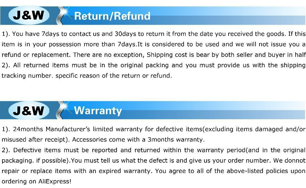 refund warranty