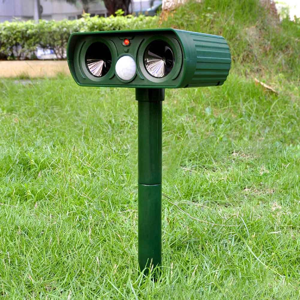 Reject Shop Outdoor Solar Lights: Aliexpress.com : Buy Solar Power Ultrasonic PIR Pest