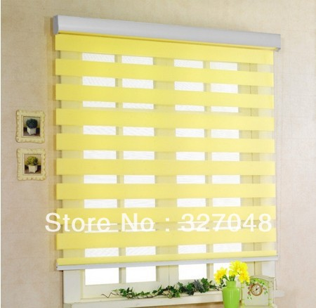 Beau Popular Zebra Blinds/double Layer Roller Blinds/ready Made Curtain/curtain  Fabric Curtain Window Curtain In Blinds, Shades U0026 Shutters From Home U0026  Garden On ...