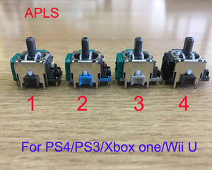 ALPS Original 3D analog joystick stick axis sensor module repair part for ps4/ps3/xbox one/wiiu 100pcs/lot(China)