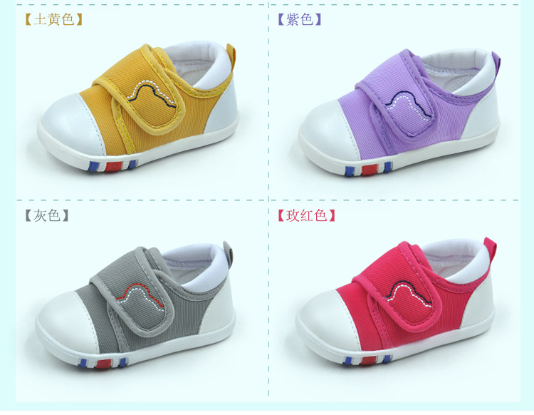 Spring Newest Baby First Walkers Shoes Breathable Autumn Canvas Boys Girls Infant Soft Sole Anti-slippery Warm Toddler Shoes (10)