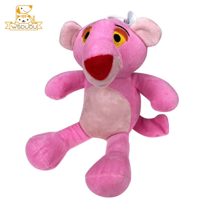 Mini Pink Panther Cute Cartoon Plaything Naughty Plush Stuffed Toys Kawaii Animals Girls Gifts Nano Dolls For Children Adorable