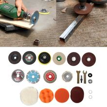 1Set Multi-functional Cutting Disc Polishing Wheel Wood Saw Blade Connecting Rod Suit for Electric Drill Angle Grinder Cutter To fitsain mini table saw 4 100mm saw blade wood cutting disc adapter connecting rod for motor shaft 5mm 6mm 8mm 10mm 12mm