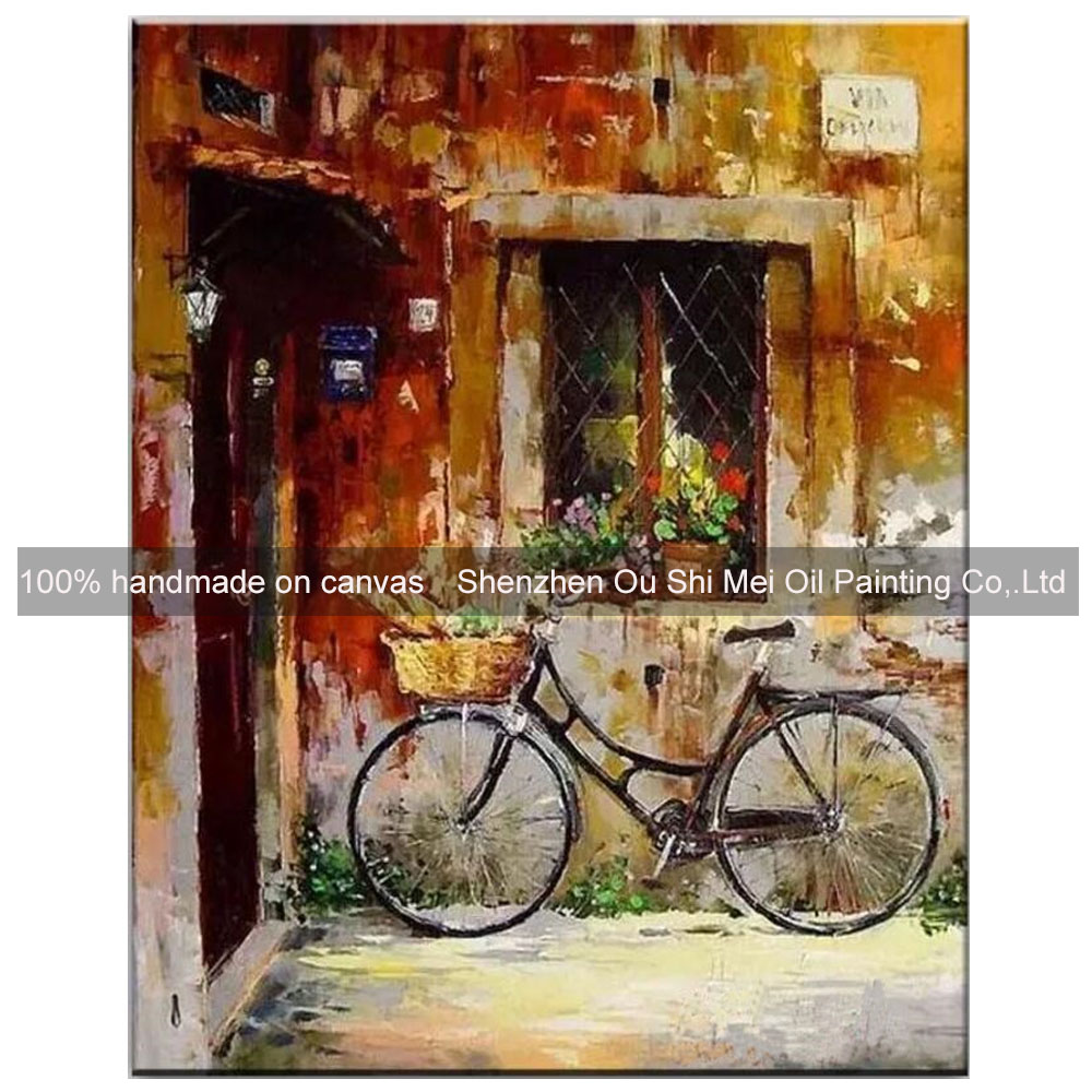 home decor paintings handmade decorative oil painting window