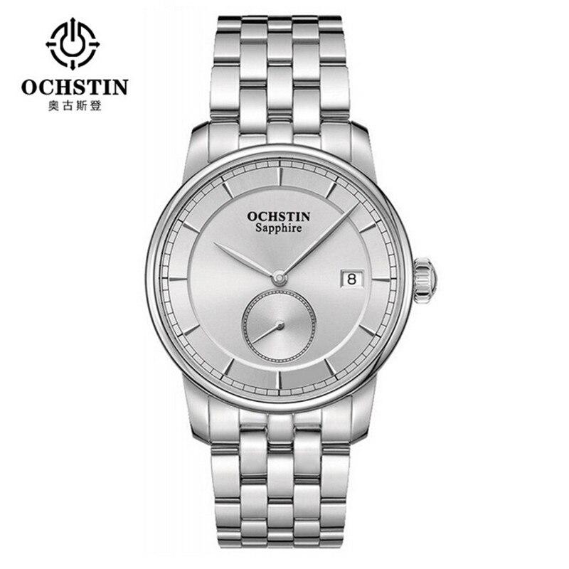 Marque célèbre hommes montres de sport montre en acier pleine mode masculine OCHSTIN horloge à Quartz montre-bracelet militaire Relogio Masculino