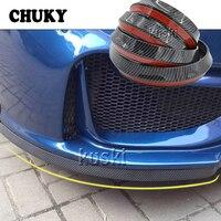 Car Stickers 2.5m Car Front Chin Spoiler Rubber Strip For Mazda 6 3 CX 5 Ford Focus 2 3 mk2 mk3 Fiesta Mondeo mk4 Ranger Fusion