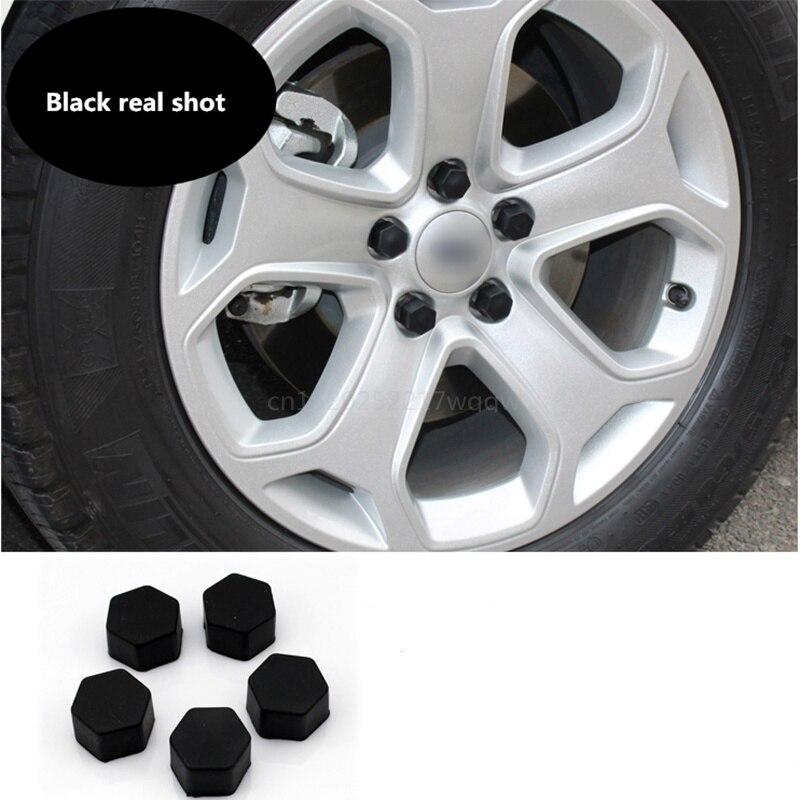 Car Wheels screw cover silicone material Exterior products For CITROEN SEDAN DS3 DS5 DS6 C2 C3 C4 C5 C6 C8