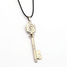 Fairy Tail Necklace Lucy Heartfilia Star Key Fashion Rope Pendant
