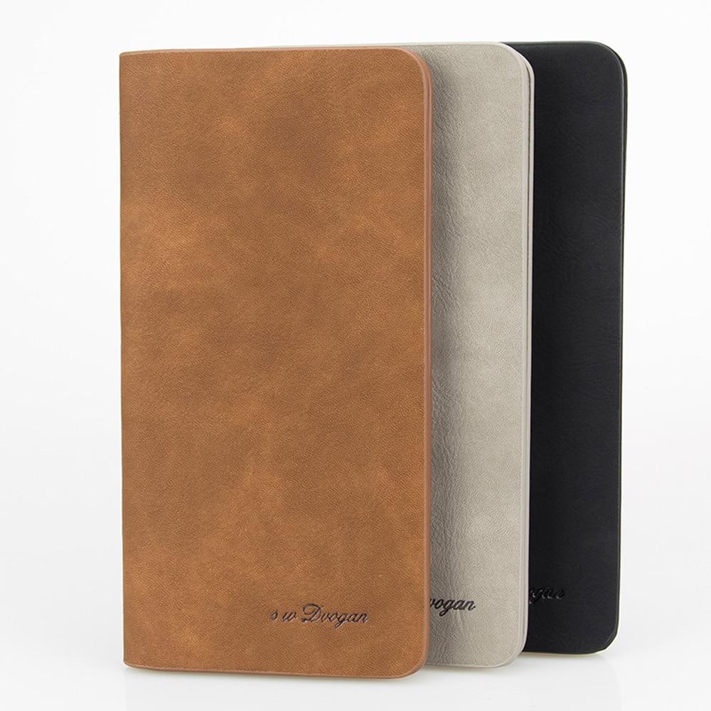 Minimalist Long Wallet Solid Color Mans Wallet Leather Men Wallets Card Photo Holder Case Pocket Bifold Wallet Male Gift