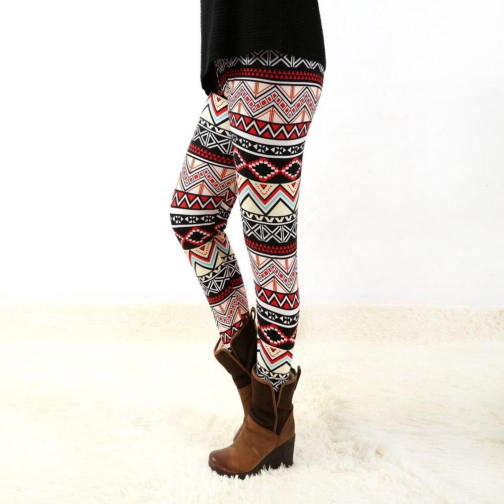 936fashion ženska dna visoke elastične hlače capris ugodno plus - Ženska odjeća - Foto 3