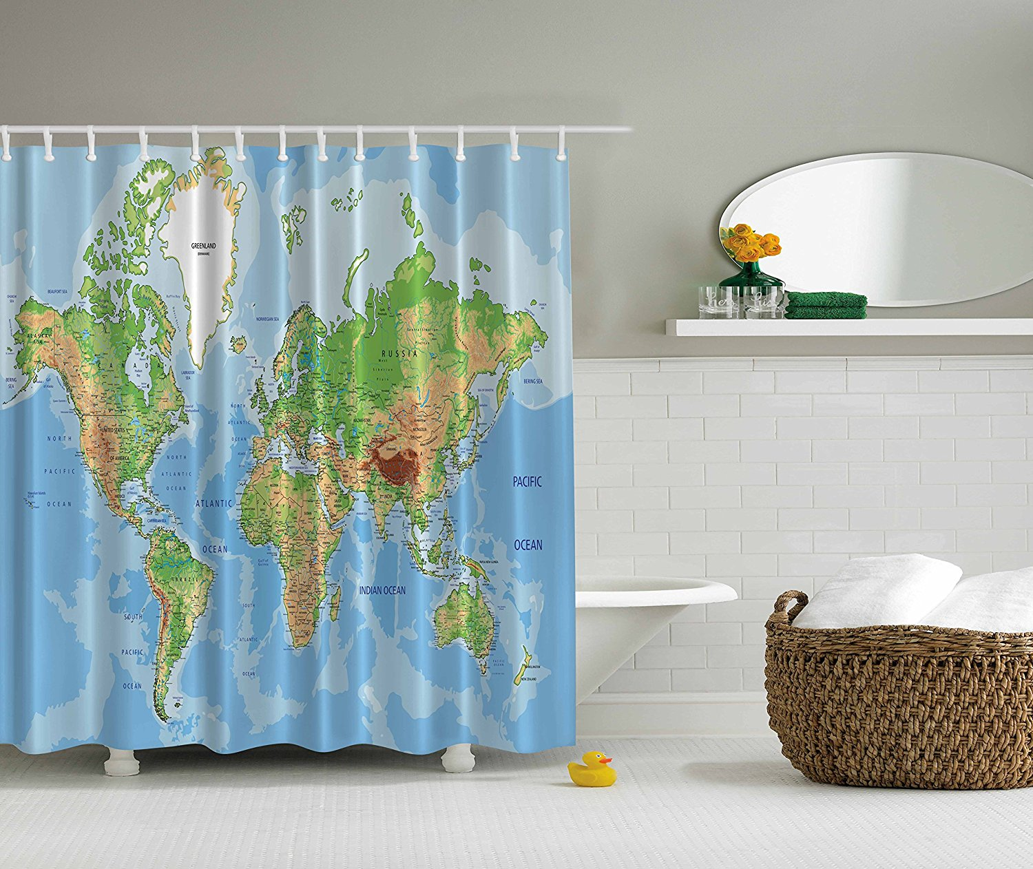 popular novelty shower curtainbuy cheap novelty shower curtain  - memory home world map printed shower curtain novelty home decor waterproofmildewproof polyester fabric shower curtain