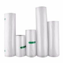 Пищевой вакуумный пакет Nosii 12x500 15x500 20x500 см, рулон пакетов для хранения, безопасная упаковка для сохранения свежести, кухонный инструмент для...