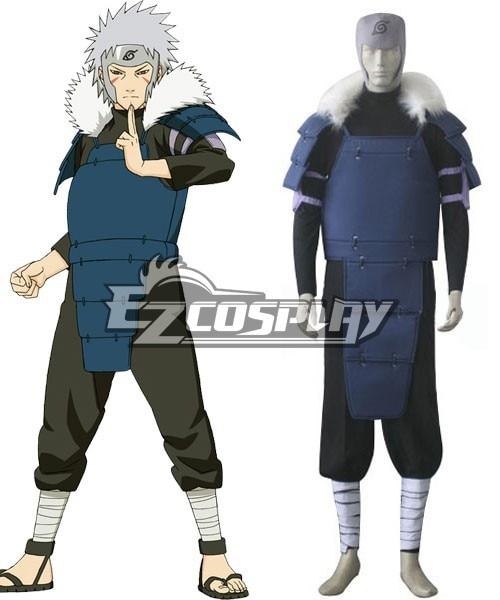 Naruto 2nd Hokage Tobirama Cosplay Costume E001