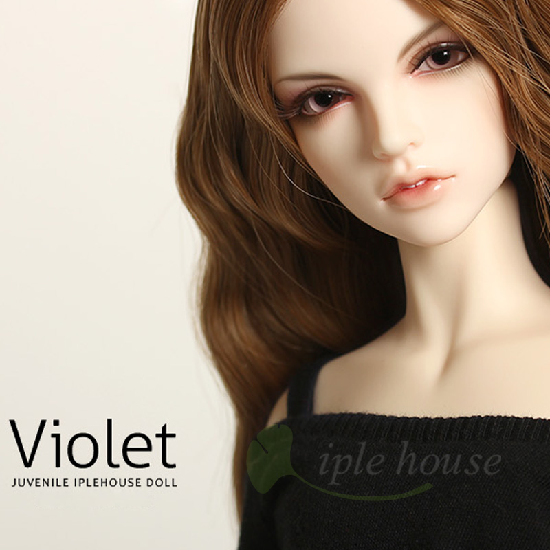 New Iplehouse IP Jid Violet bjd sd doll 1/4 body model reborn girls High Quality resin toys free eyes Joint doll gift