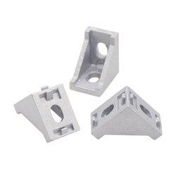 Venda quente 2028 ângulo de montagem canto alumínio conector suporte fixador 2020 3030 40/45/60/80 series perfil alumínio industrial