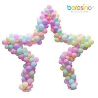 B455 borosino Metal Balloon wedding Star Arch for anniversaire parties and wedding decorations 1PCS borosino