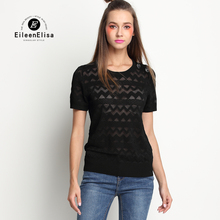 Runway Tops Women T Shirt 2017 Black Tee Shirt Brand Luxury Tee