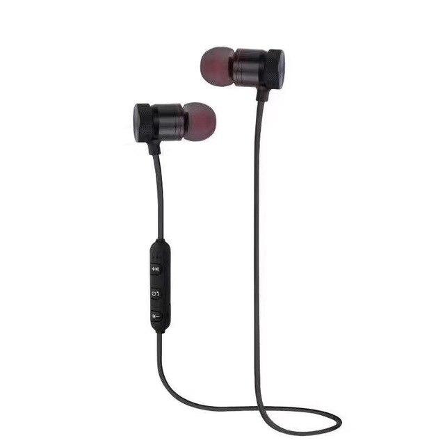US $4 0 |M5 Bluetooth Earphone wireless headset sports bass bluetooth  headset with mic for xiaomi lg jabra/aa In Ear-in Bluetooth Earphones &