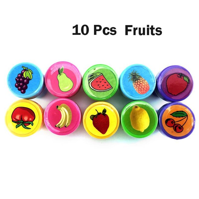 10Pcs Fruits