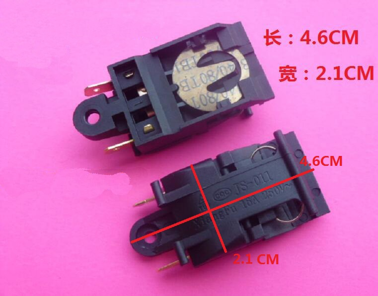 Electric Kettle Parts 250V 16A large power steam switch electric kettle parts thermostat jb 01e sld 113 ch 588 sl 888 zl 189 a zl 189 b kettle steam switch