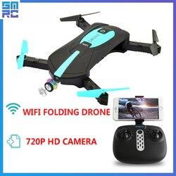 Bolso SMRC Mini Quadrocopter mina de Drones com Câmera HD Wi-fi pequeno Avião RC Quadcopter Dron helicóptero fpv S9 corrida corrida brinquedos