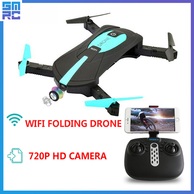 SMRC JY018 pocket drone with HD camera RC Quadcopter WiFi FPV Headless Mode Foldable Aerial flight remote control quadcopter