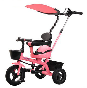 Children's baby stroller bike bicycle tricycle cart-in