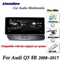 Liandlee For Audi Q5 8R 2008~2017 Android Original Car System Radio BT GPS Map Navi Navigation Screen Multimedia NO DVD Player
