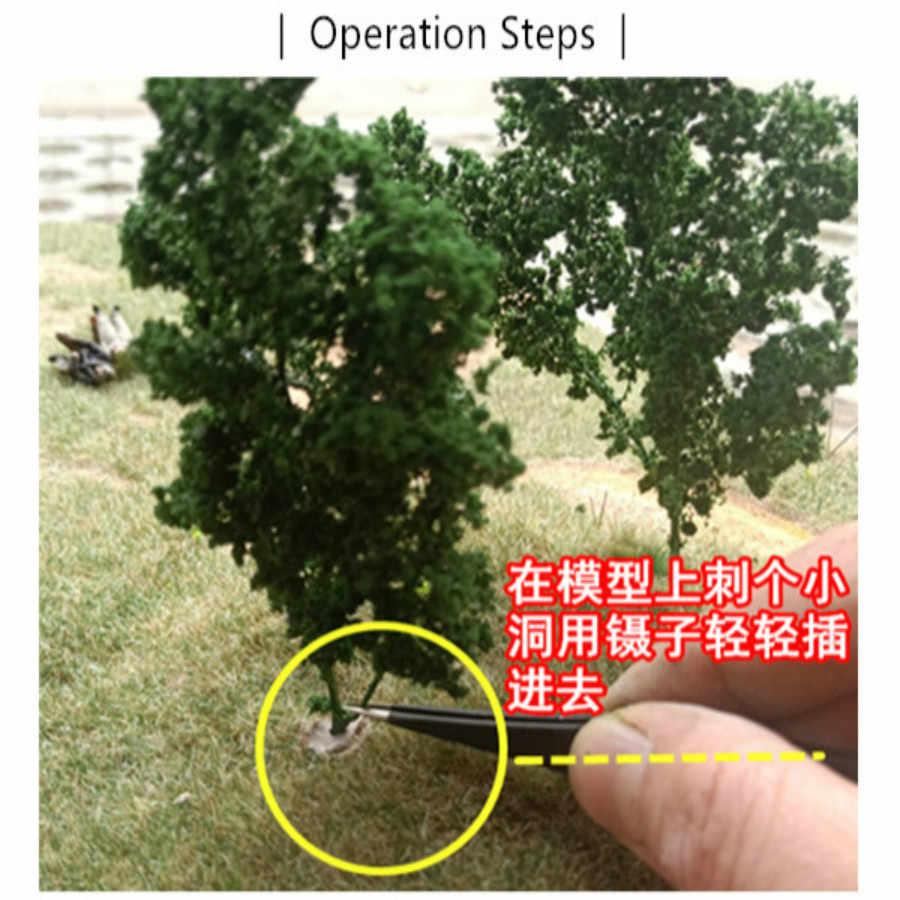 Architektura skala model miniaturowe krzewy drzewo dla ho pociąg materiały budowlane modelbouw