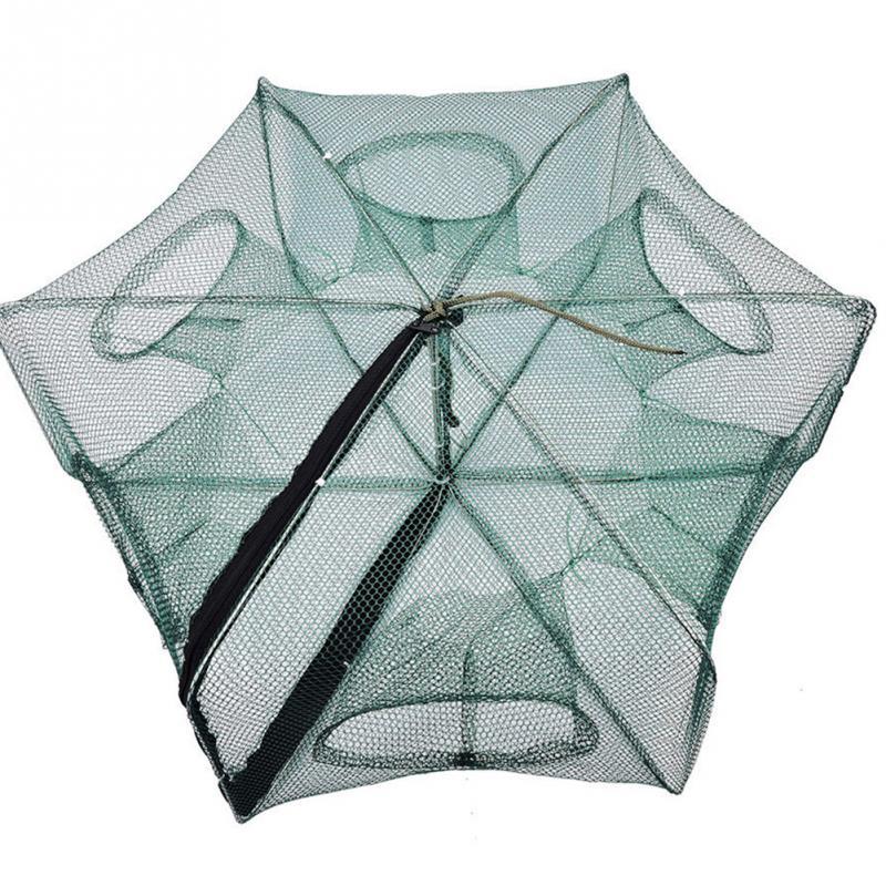 Foldable Crab Net Trap Cast Dip Cage Fishing Bait Fish Minnow Crawfish Shrimp Fishing Net tl084cn dip 14