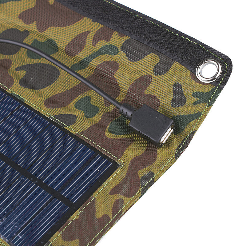 USB output solar panel charger