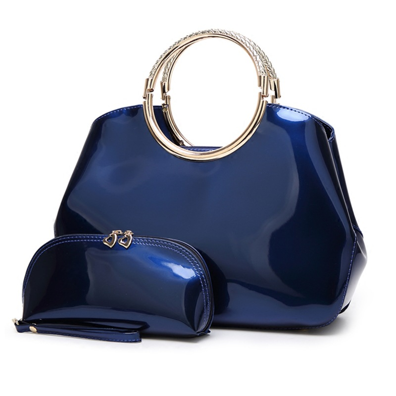 New Arrival Vintage Trapeze Tote Women Leather Handbags Ladies Party Shoulder Bags Fashion Top-Handle Socialite Dinner Women Bag