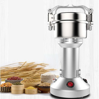 Household Multifunctional Electric Grinder 220V 200g Ultra fine Gristmill Medicine Grains Spices Hebal Cereals Coffee Crusher