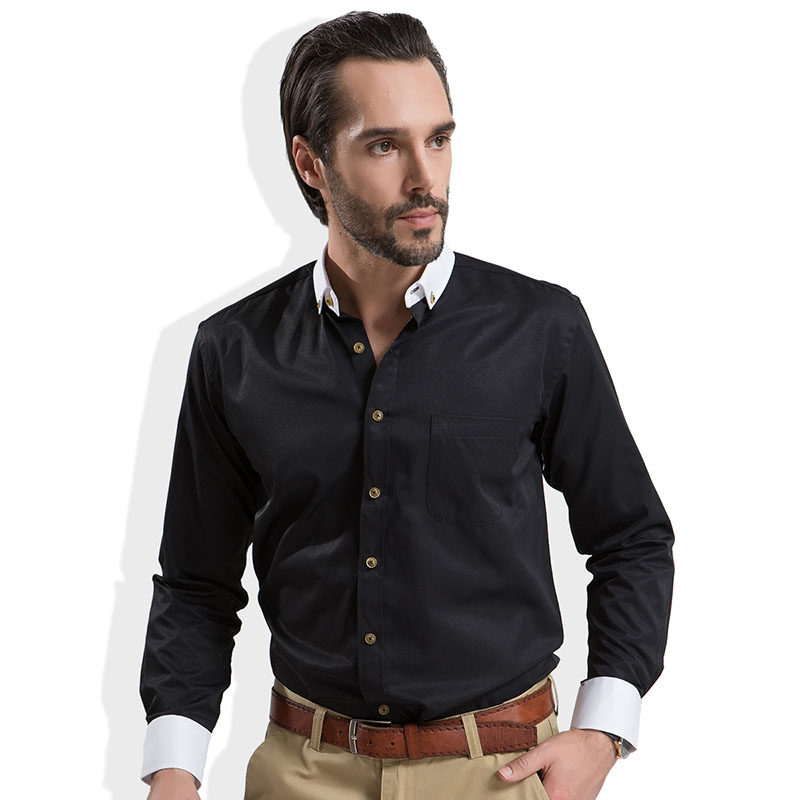 Mens Black Casual Shirt | Is Shirt