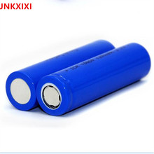 10PCS JNKXIXI 18650 1200mAh Rechargeable Battery li ion Batteries Bateria Li-ion Lithium Battery for Flashlight